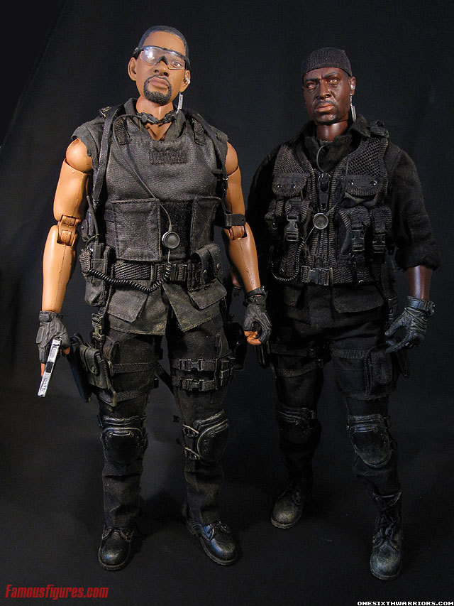 bad boys 2 will smith & martin lawrence custom action figures 12 inch 1:6 scale