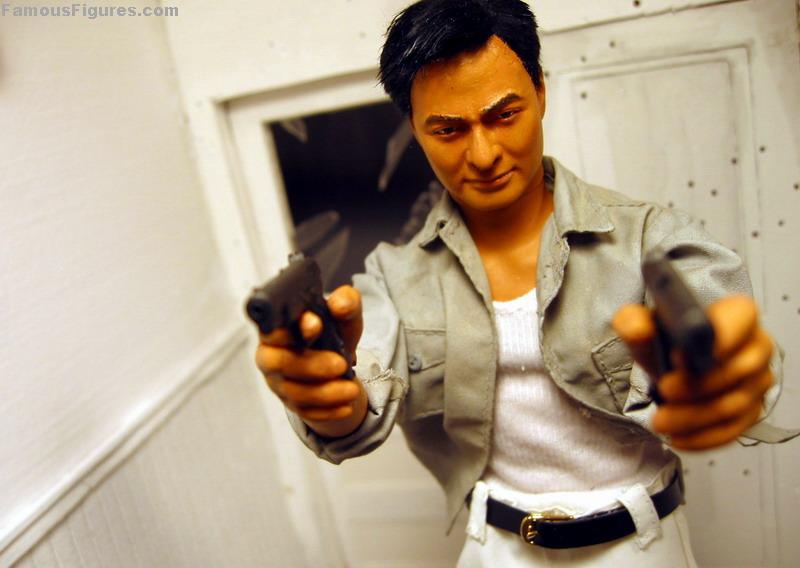 "Chow Yun Fat hard boiled john woo 12"" 1:6 scale action figure"