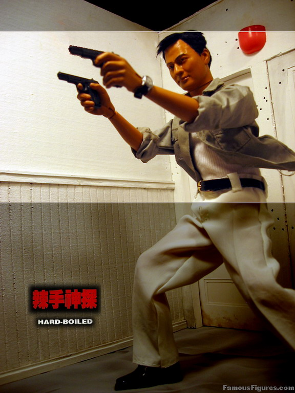"Chow Yun Fat hard boiled john woo 12"" 1:6 scale action figure"