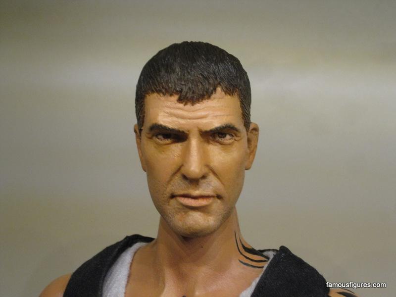from dusk til dawn clooney seth gecko 12-inch figure Head 1