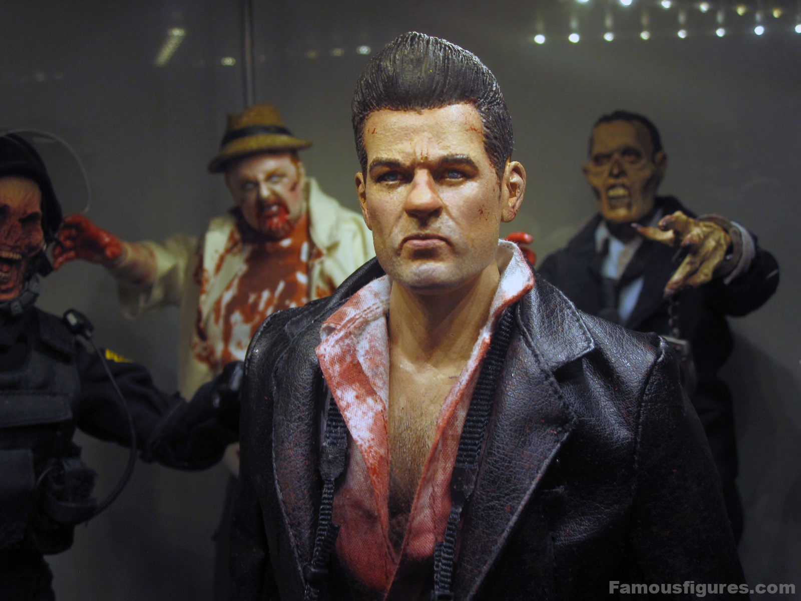"12"" Dead Rising custom action figure Frank West Capcom - medium shot"