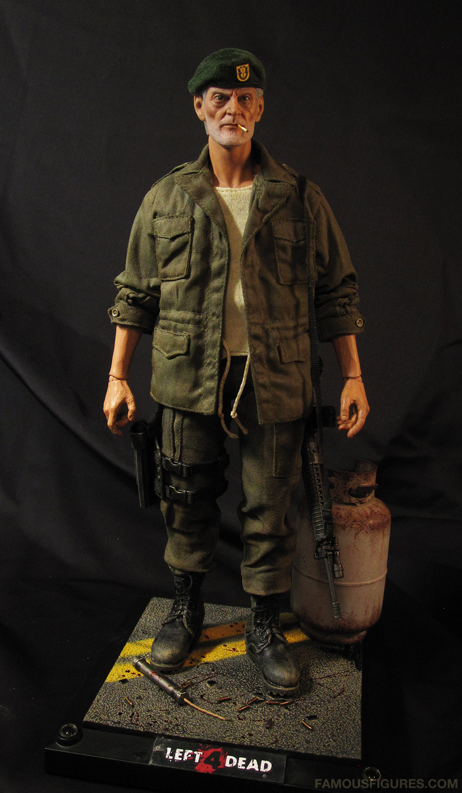 Bill L4D left 4 dead custom action figure 12""