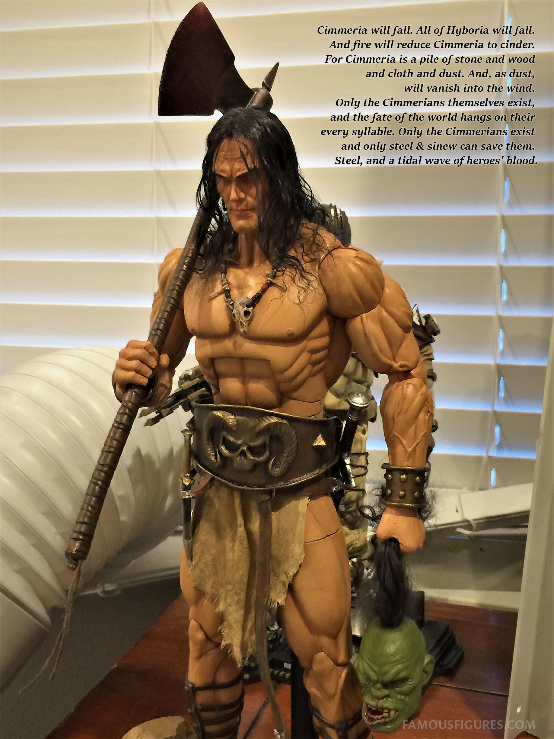 Conan the Barbarian 12-inch figure 300