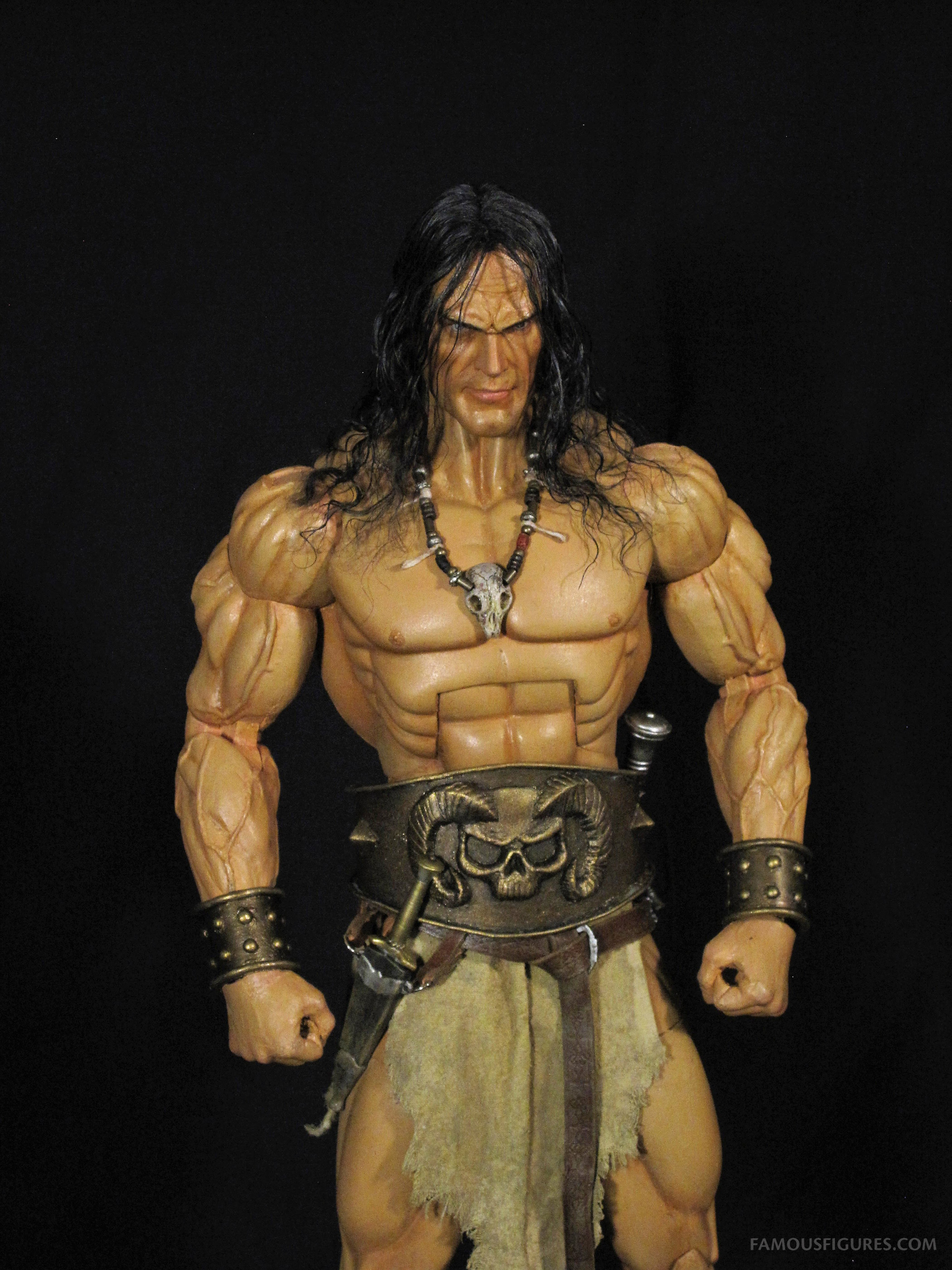 Conan the Barbarian 12-inch figure mid view