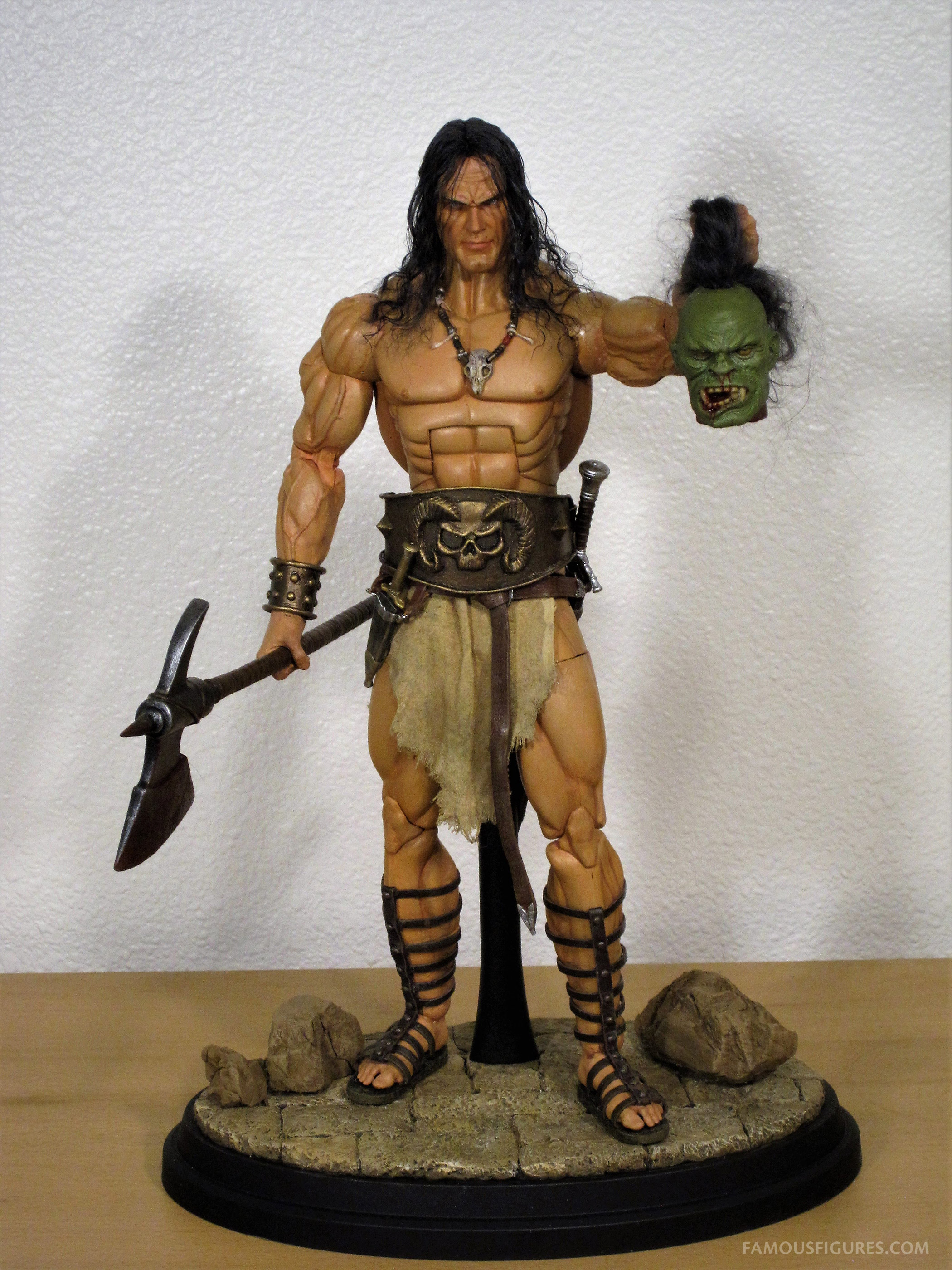 Conan the Barbarian 12-inch figure axe and head