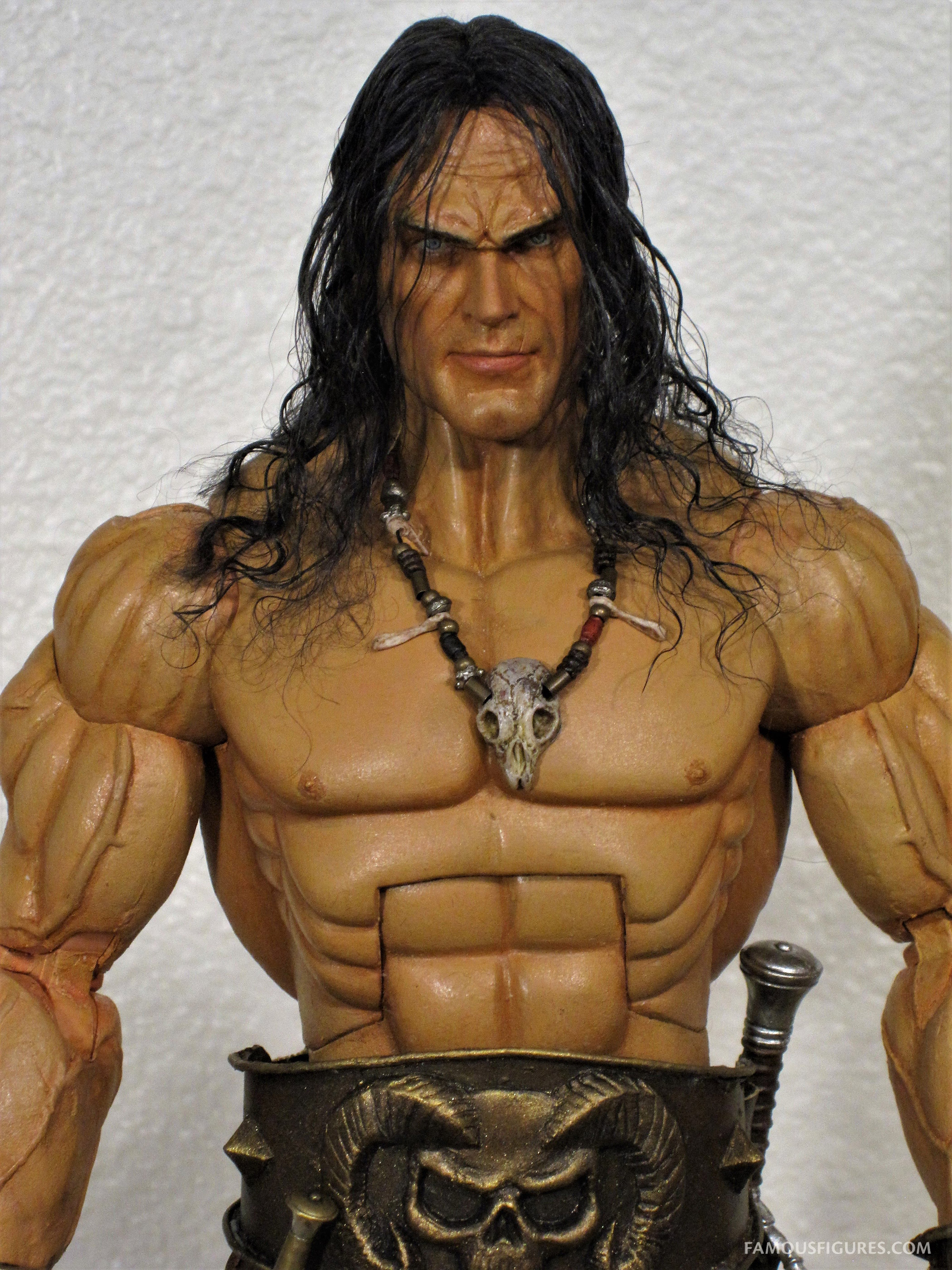 Conan the Barbarian 12-inch figure close up