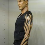 from dusk til dawn clooney seth gecko 12-inch figure side view